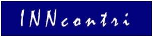 Logo INNcontri - Schriftzug blau Rahmen weiß 2pxl