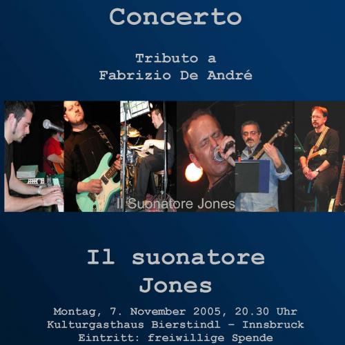 2005, Suonatore Jones Poster
